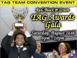 Red, Black & Green TAG Awards Gala