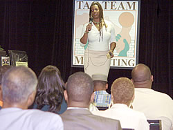 Speaking At TAG TEAM Event