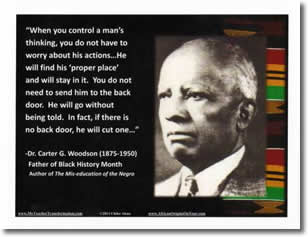 Carter G Woodson Poster Buy Black Movement Store