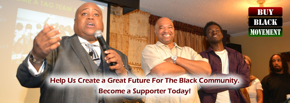 Help Us Create a Great Future For The Black Community